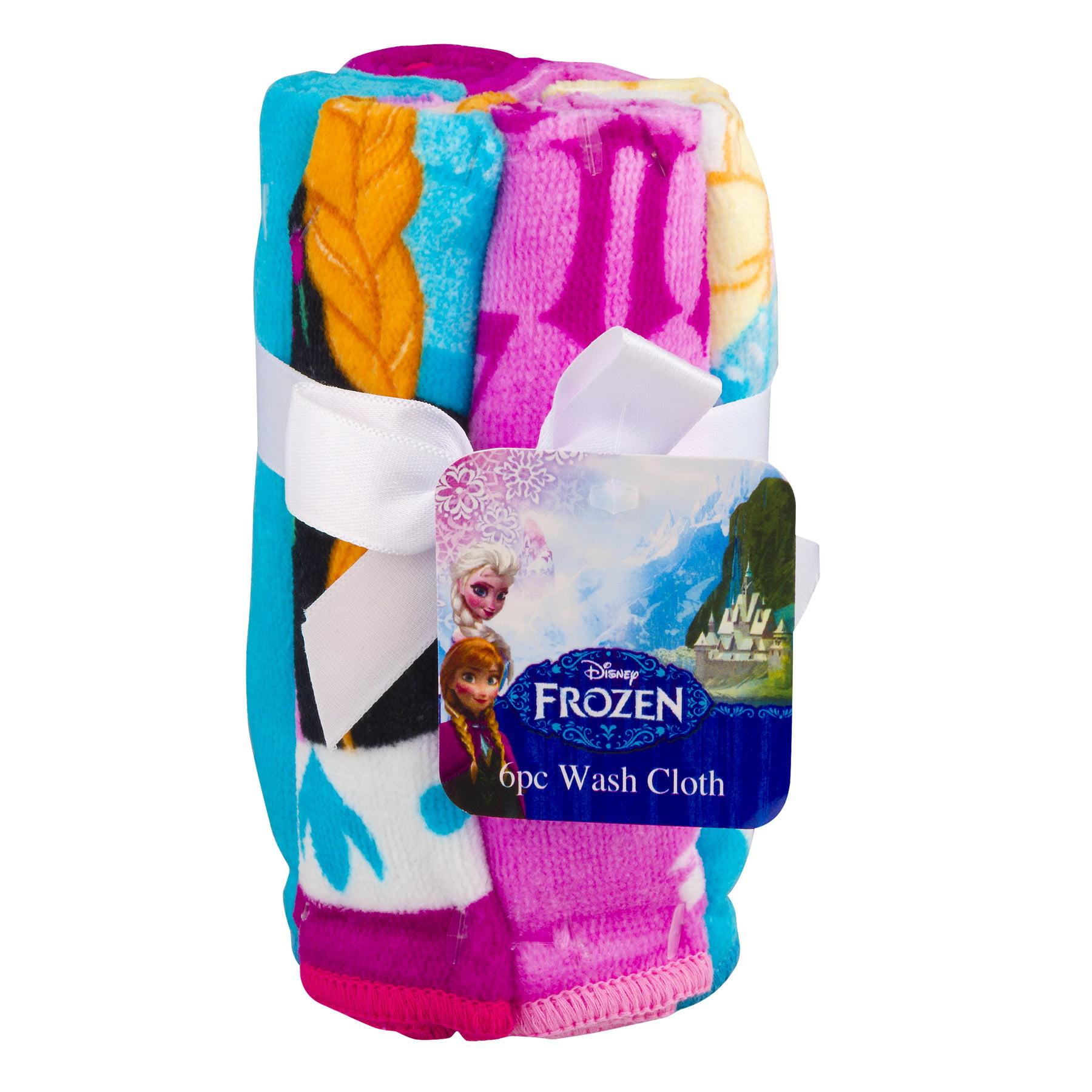 Disney Frozen Wash Cloth - 6 PC, 6.0 PIECE(S)