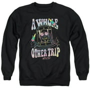 Astro Pop Space Popssdey Mens Crewneck Sweatshirt