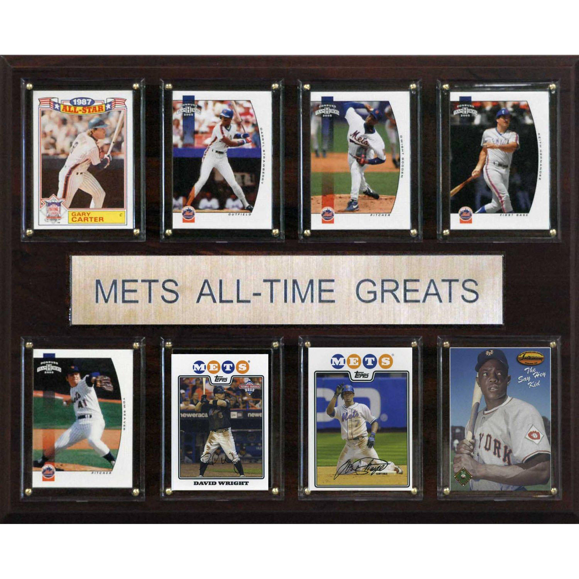 C&I Collectables MLB 12x15 New York Mets All-Time Greats Plaque by C & I Collectables