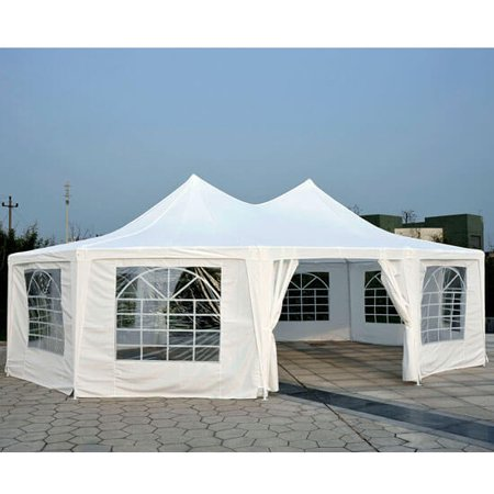 Outsunny 29' x 21' 10-Wall Large Party Gazebo Tent - - Large Parts