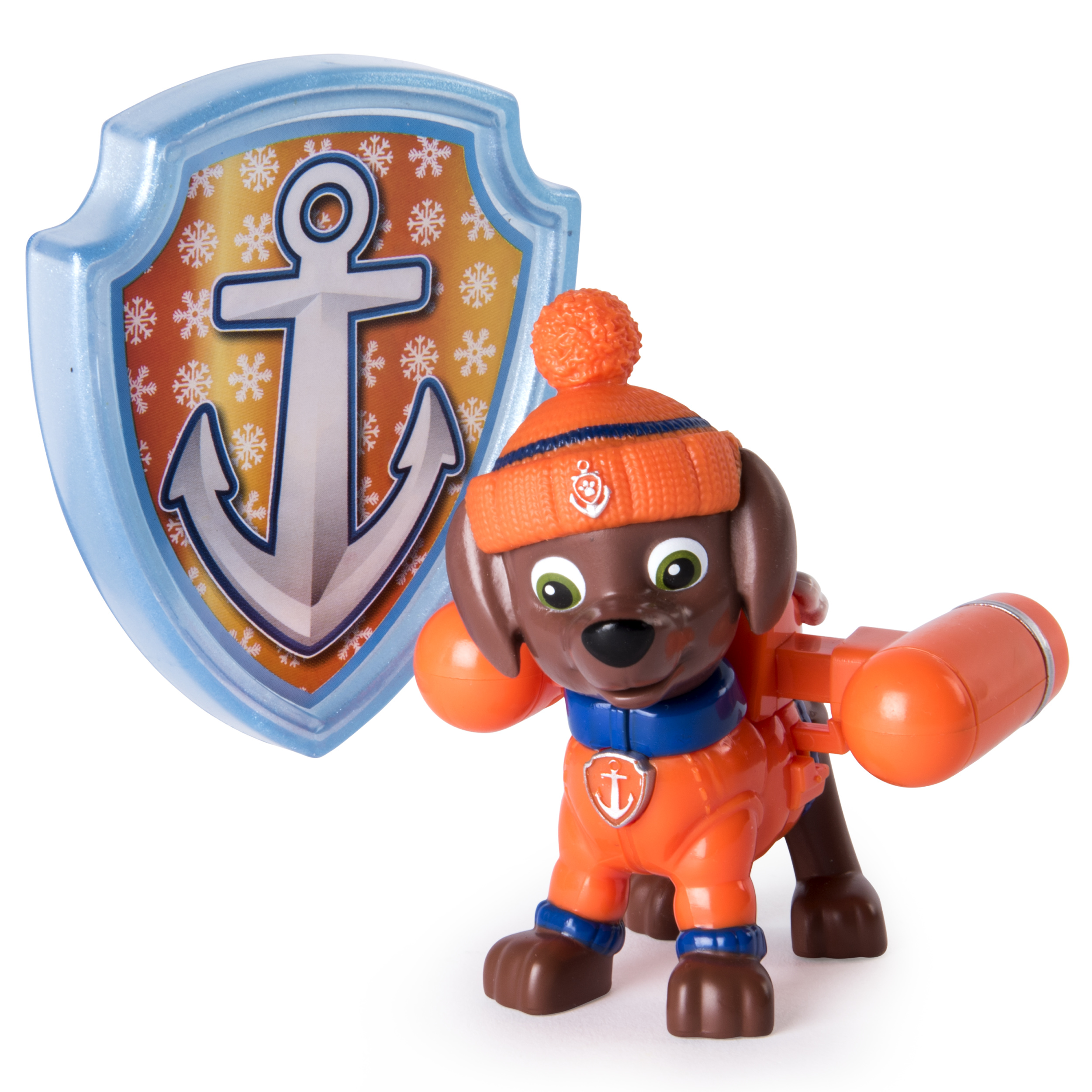 ... Paw Patrol Snow Rescue U2013 Zuma With Transforming Pup Pack And Badge U2013  Walmart Exclusive ...
