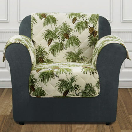 Sure Fit Holiday Furniture Chair Slip Cover ()