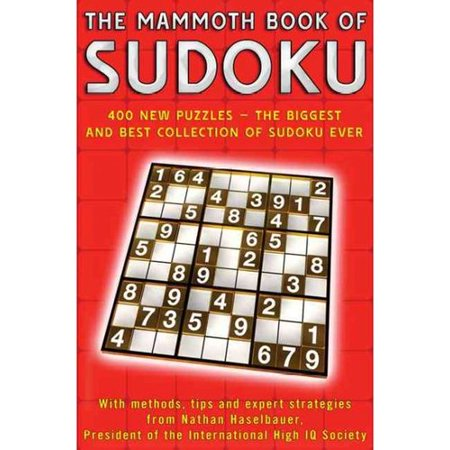 Mammoth book of sudoku the 400 new puzzles the for The mammoth book of tattoos