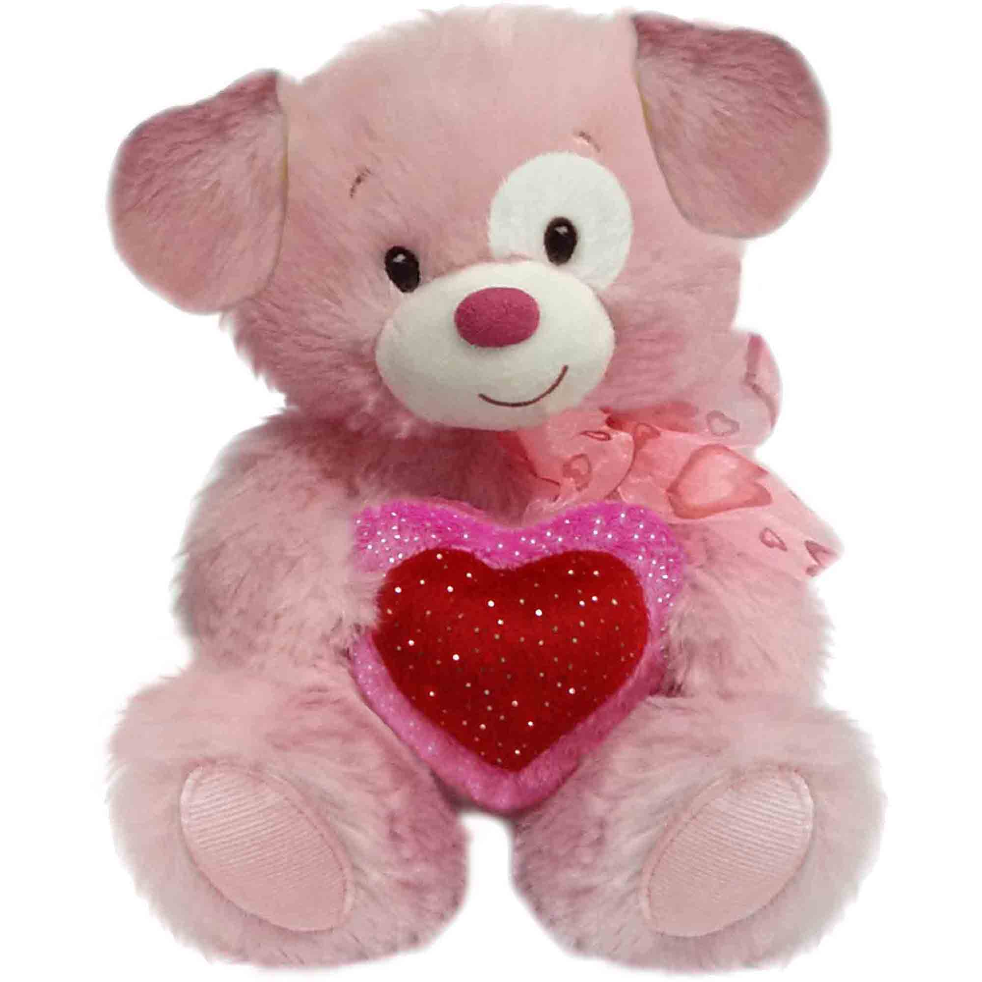 First & Main Valentine's Day Lovey Cuddleup, Pink