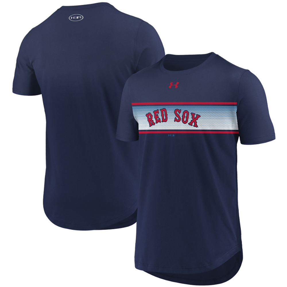 Boston Red Sox Under Armour Seam To Seam Core T-Shirt - Navy