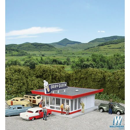 Walthers Cornerstone N Scale Building Structure Kit Vintage Dairy Queen