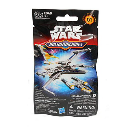 Wave 3 Hasbro Toys (Hasbro Star Wars The Force Awakens MicroMachines Blind Bag - Wave 1 )