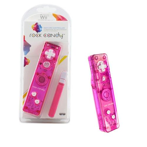 PDP Nintendo Wii Rock Candy Controller, Pink