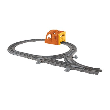 Fisher-Price Thomas & Friends TrackMaster Tunnel Expansion Pack, Includes straight and curved track pieces with directional switches and tunnel By FisherPrice