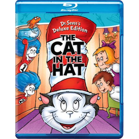 Dr. Seuss: The Cat In The Hat (Blu-ray) (Dr Seuss Cat In The Hat Crib Bedding)