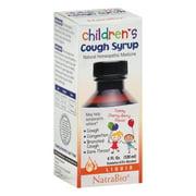 NatraBio  Children s Cough Syrup  Yummy Cherry-Berry Flavor  4 fl oz  120 ml