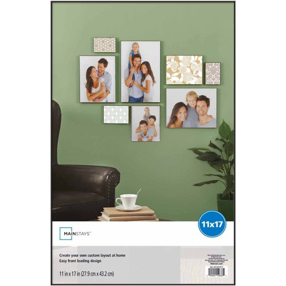 Mainstays 11x17 Format Picture Frame Set Of 3 Walmart