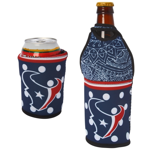 Houston Texans Either/Or Can or Bottle Insulator Cooler - No Size