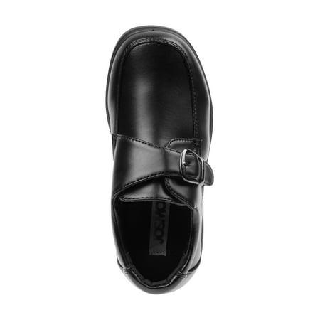 Josmo Boys Slip-on Comfort School Shoes w/ buckle detail