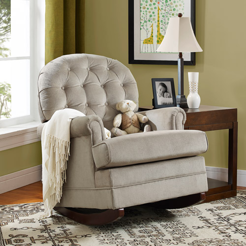 Baby Relax Brielle Button Tufted Rocker