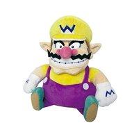 "Little Buddy LLC, Super Mario All Star Collection: Wario 10"" Plush"