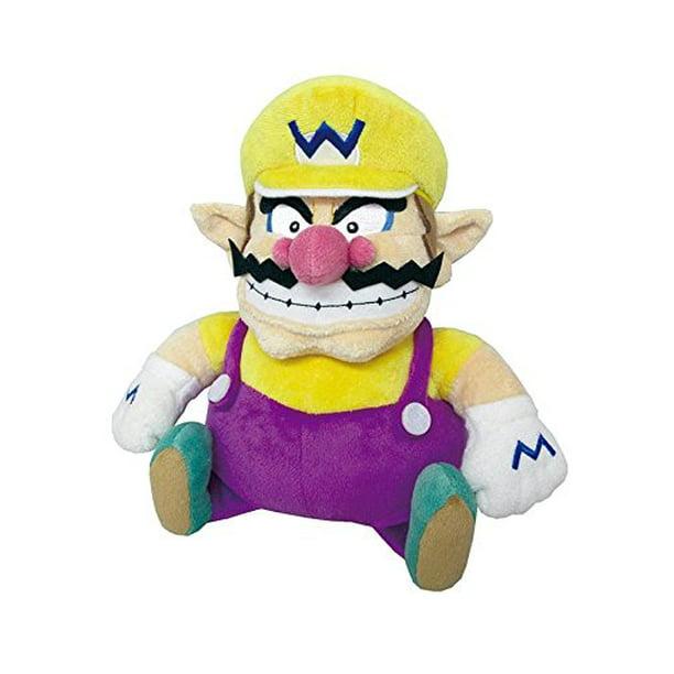 Little Buddy Llc Super Mario All Star Collection Wario 10 Plush