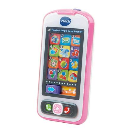Swipe System - Touch & Swipe Baby Phone - Pink