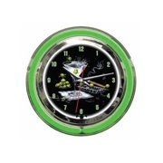Olive Party II Clock