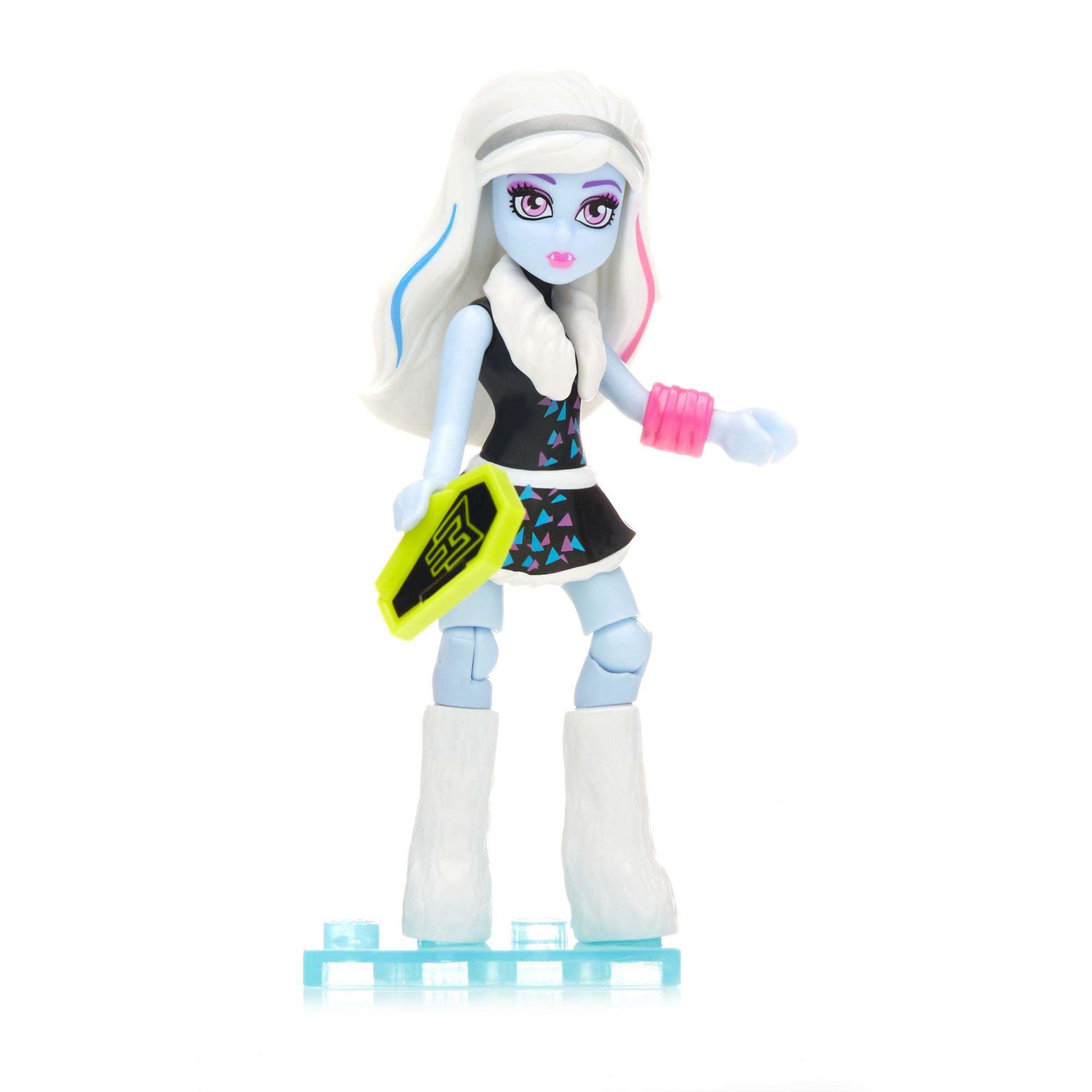 Mega Construx Monster High Ghouls Skullection III Abbey Doll by Mega Brands, Inc.