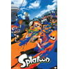 Splatoon Ink Or Be Inked World Squid Like Inkling Nintendo Wii U Video Game Poster - 12x18 inch