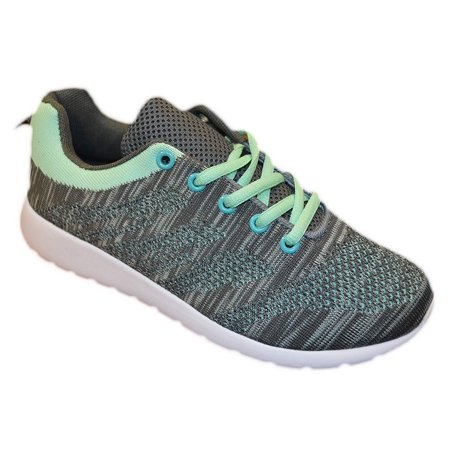 Womens Fashion Sneakers Shoes (8, - Green Tinkerbell Shoes