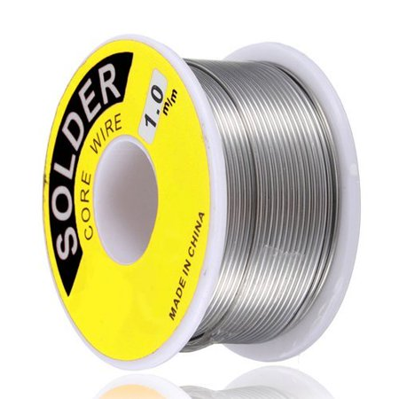 Wideskall® 1.0 mm 60/40 Rosin Core Tin Lead Roll Soldering Solder Wire (45 Gram) Tin Lead Solder