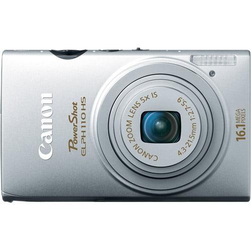CANON 6036B001 16.1 Megapixel PowerShot(R) Elph(R) 110 HS Digital Camera (Silver)