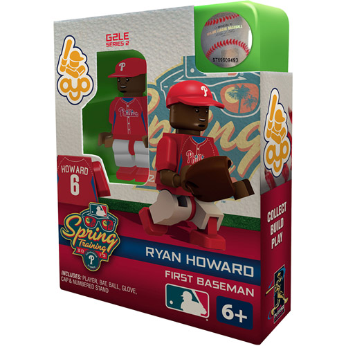 OYO MLB Spring Training 2013 Phillies Ryan Howard Mini Action Figure