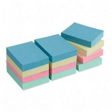 Pastel Colors Refill Notes - Sparco Premium Pastel Adhesive Sticky Notes Pad 19852