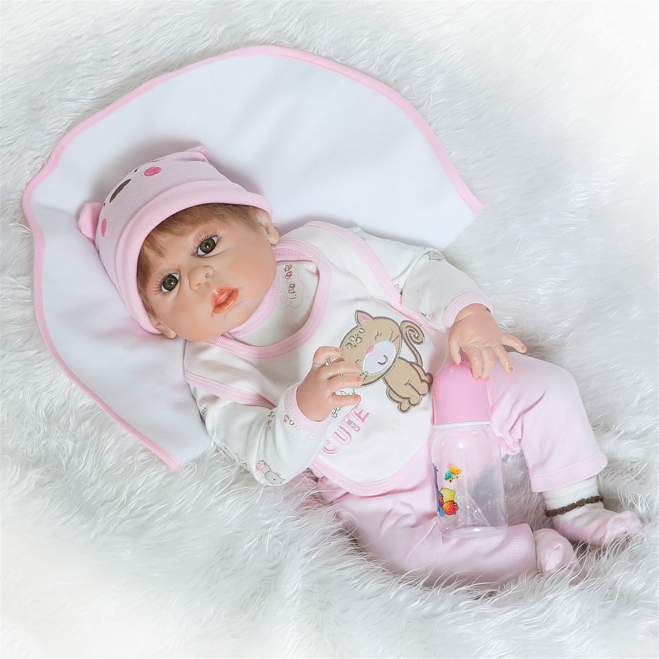 NPK Collection Reborn Baby Doll Soft Silicone vinyl 22inch ...