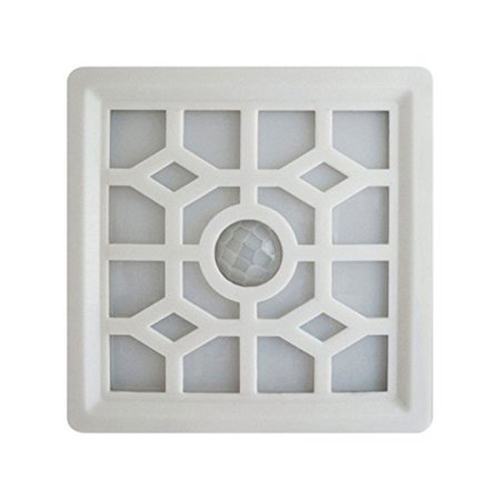 Image of Light It! by Fulcrum LED Wireless Soft-Glow, Indoor/Outdoor, Motion Sensor Light with Filigree Pattern, White