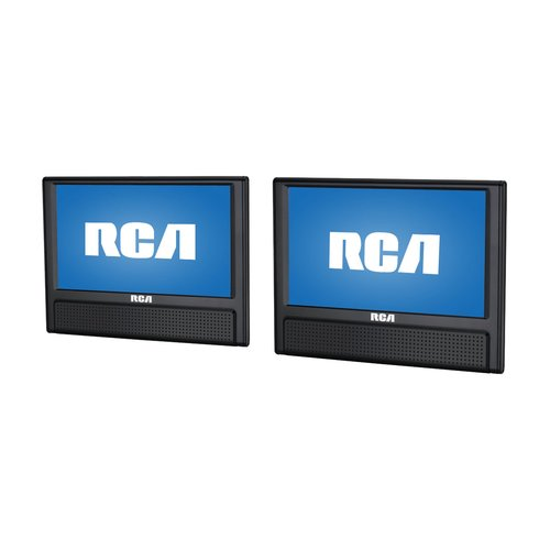 "RCA 9"" Mobile Dual Screen DVD Player"