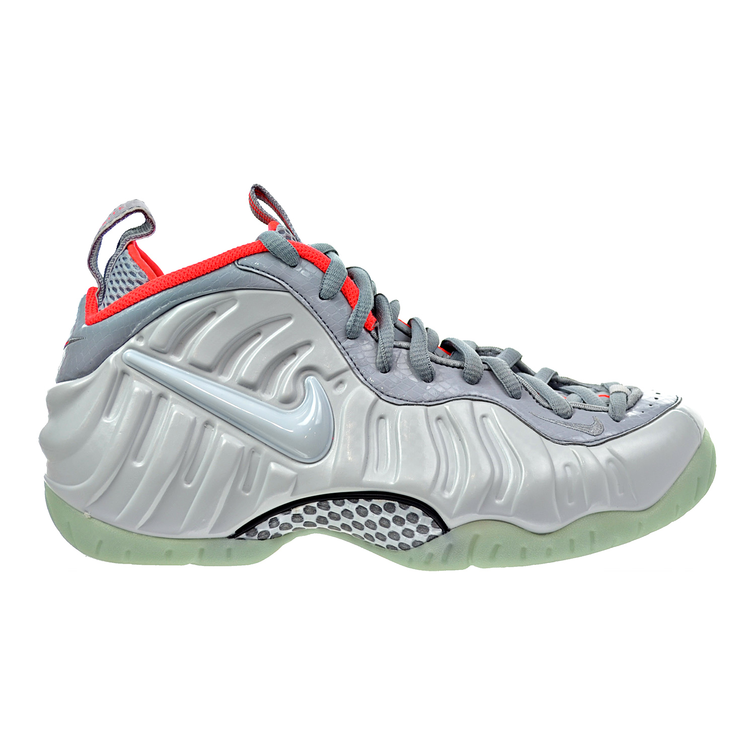 Nike Air Foamposite Pro Premium Men's Shoes Pure Platinum Wolf Grey616750-003 by Nike