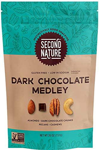 Second Nature Dark Chocolate Medley, 26 oz