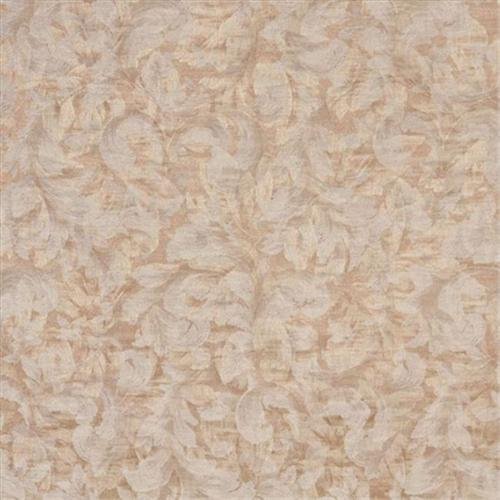 Designer Fabrics F802 54 inch Wide Gold And Ivory, Pastel Floral Leaves Jacquard Woven Upholstery Fabric
