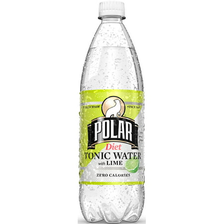 Polar Diet Soda  Tonic Water With Lime  33 8 Fl Oz  12 Count
