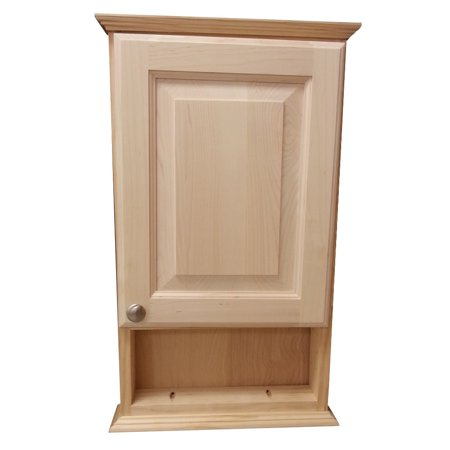 Wg Wood Products 24 Inch Ashley Series On The Wall Cabinet With 6