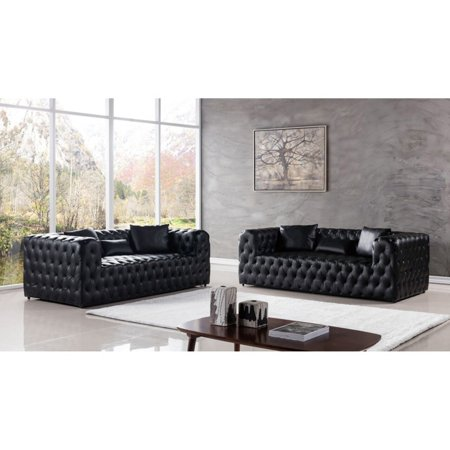 American Eagle Furniture Gainsborough 2 Piece Tufted Sofa Set