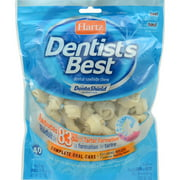 "Hartz Dentist's Best Small Dog 2"" Dental Rawhide Chews, 40 count"
