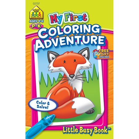 My First Little Busy Book-Coloring Adventure Grades P-K](Halloween Arts And Crafts For 1st Grade)