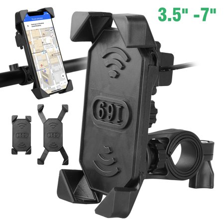 Mount Bike Bracket Gps - Motorcycle Phone Mount with USB Charger Port,TSV Bike Motorcycle Cell Phone Holder Mount Stand Bracket for Most Mobile Smartphones (3.5