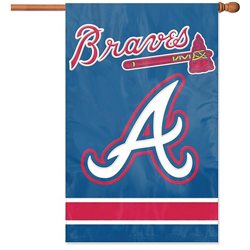 Braves Applique Banner Flag