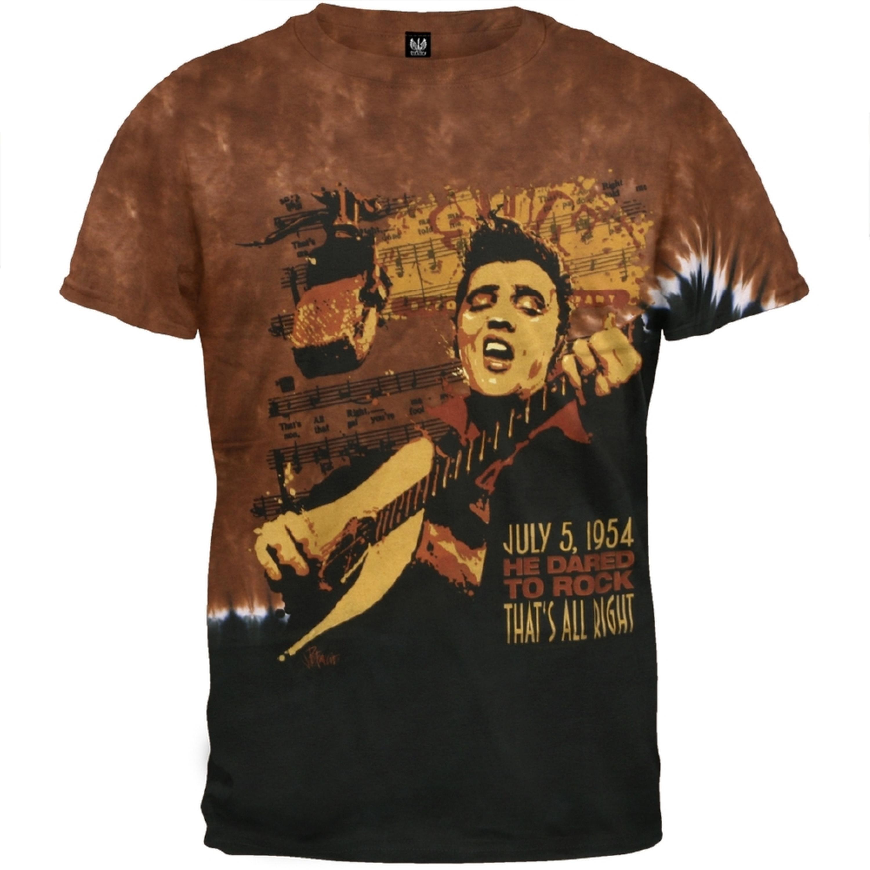 Elvis Presley - Dared To Rock Tie Dye T-Shirt