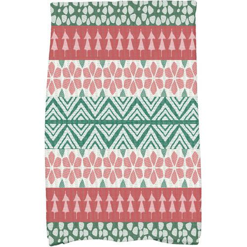 FairIsle Geometric Print Kitchen Towel by E By Design