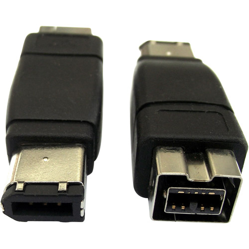 Professional Cable FireWire 900 to 400 Adapter, 9-Pin Female to 6-Pin Male