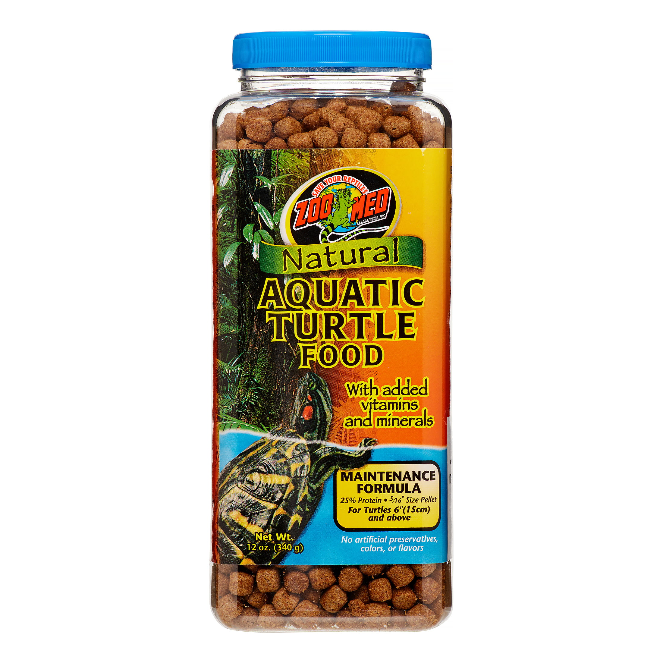 Zoo Med Natural Maintenance Formula Aquatic Turtle Food (12 oz.) by ZOO Med LABORATORIES INC