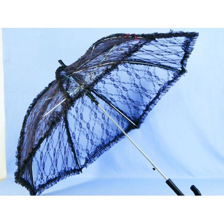 HMS Steampunk Deluxe Lace Costume Umbrella Parasol 37
