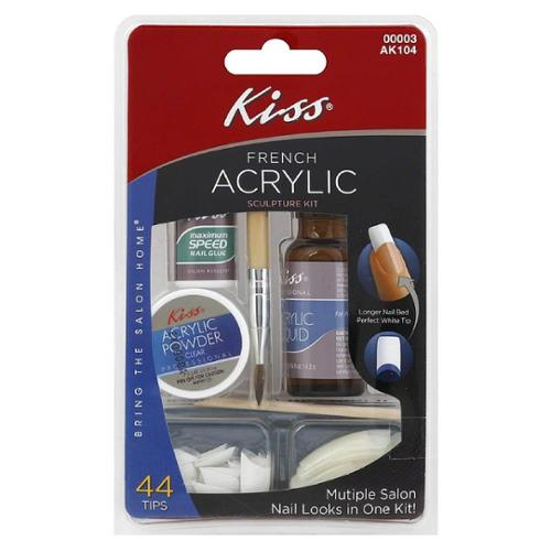 KISS French Acrylic Sculpture Kit 1 ea (Pack of 6)