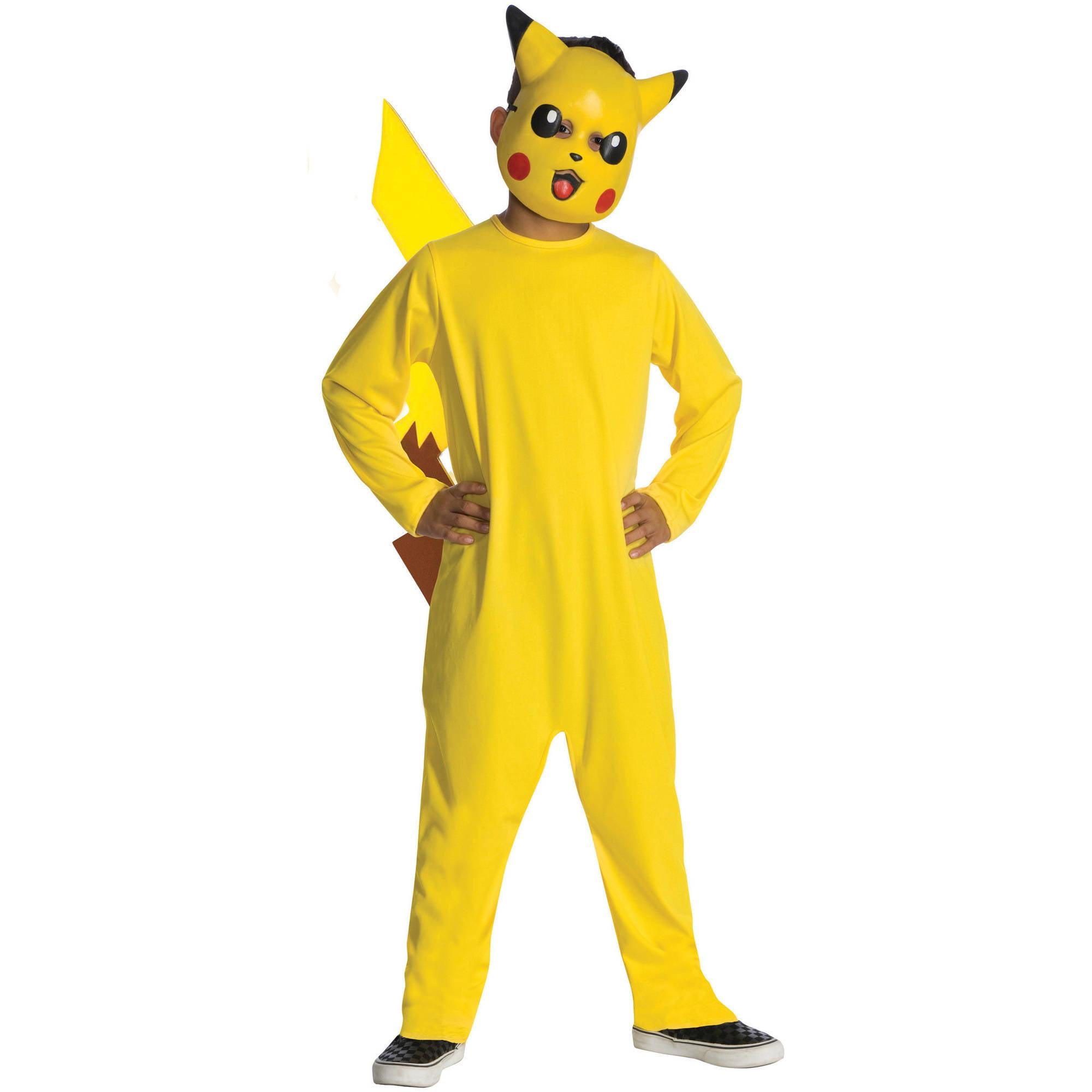 """Pokemon """"Pikachu"""" Boy Jumpsuit Halloween Costume"""